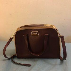 Kate Spade maroon bag, used